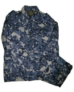 Russian Blue Woodland Pattern Camouflage SetsField Model