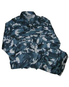 Russian MVD Blue Woodland Pattern Camouflage  Commandos Suit