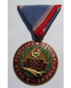 Hungarian Communist Air Force Medal For Fighter Pilot With 550 Hours Flying Time