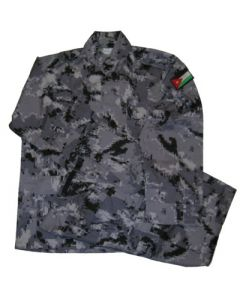 Jordanian Digital Urban Camouflage BDU's (Jacket, Pants) With Flag Sleeve Patch