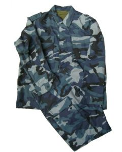 Russian White Night (Blue    Woodland)Pattern Field Uniform