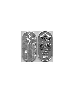 Russian Space Troops Dog Tags