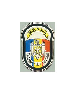 Moldovan Army 1St Infantry Brigade Sleeve Patch