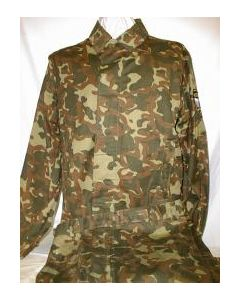 Brown Woodland Pattern Camouflage