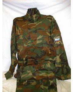 Russian Taiga 4 Color Pattern Camouflage UniformField Model