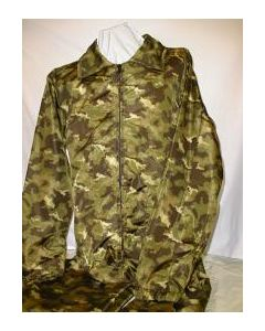 Russian Nylon Green Forest Pattern Camouflage Jumpsuit