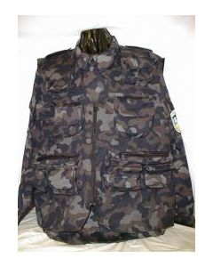 Urban Camouflage Assault Vest For Above Uniform