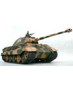 Tamiya 1/16 Scale R/C King Tiger Kit With Porsche Turrent