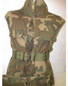 Croation Army Camouflage Sleeveless Jacket, Pants, Belt