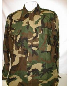 Croatian Army Summer Woodland Pattern Camouflage Shirt