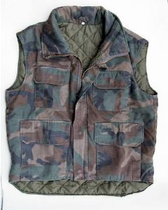 Croation Army Sleeveless Light Jacket