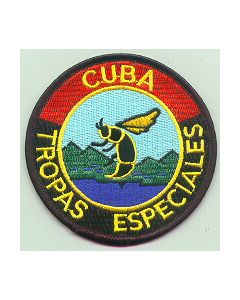 Cuban Embroidered Special Forces Sleeve Patch