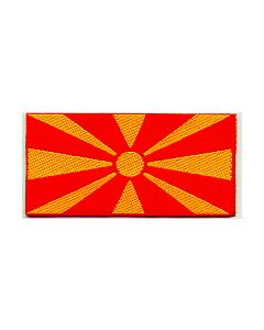 Woven Macedonian Flag Sleeve Patch