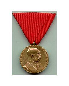 FRANZ JOSEPH GOLDEN JUBILEE MEDAL, 1848-1898