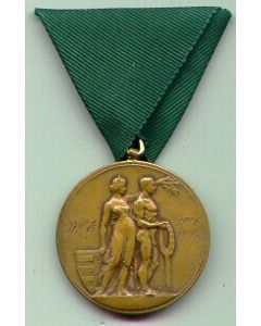 A 1926 Large MEDAL OF THE CAPITAL CITY BUDAPEST