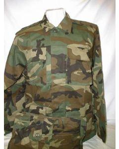 Ethiopian Army Woodland Camouflage Sets (Jacket, Pants)