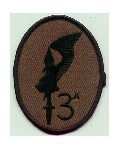 "Italian Sleeve Patch For The 3rd Coy, 9th Para Regiment ""Col"