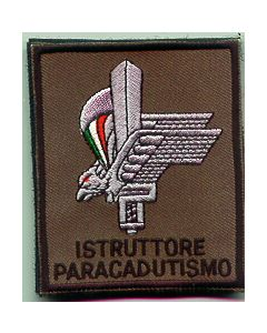Italian Sleeve Patch For Para Instructor