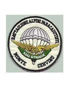 "Italian Para Sleeve Patch For Mountain Troops Para Platoon ""Alpini"""