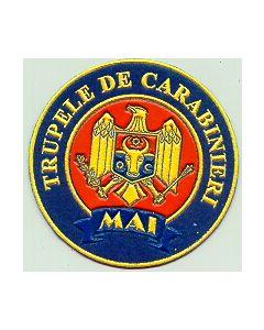 """Moldovan """"MAI Trupele De Carabinieri"""" Sleeve Patch"""