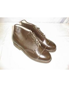 Soviet Army Officers Brown Service Shoes