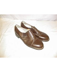 Soviet Slip On Brown Service Shoes