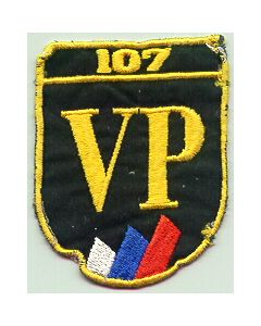 MILITARY POLICE SLEEVE PATCH Of VP (Vojna Policija - Military  Police)No 107