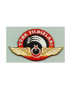 Sleeve Patch Of The TURKISH AIR FORCES