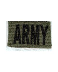 "Reproduction Rhodesian ""ARMY"" Breast Patch For Camouflage Uniform"
