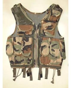 Croatia Army Special Camo Assault Vest In Excellent (Perhaps Never Used) Condition