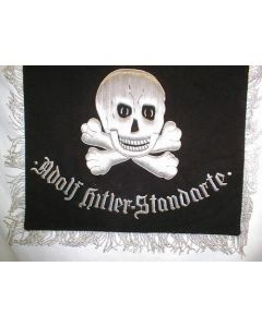 Reproduction Waffen SS Trumpet Banner