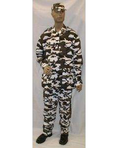 Grey Urban Camouflage Of The Indian Navy Marine Detachment Unit