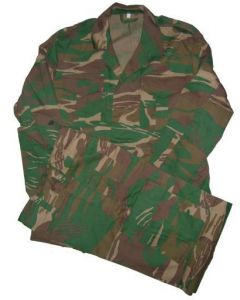 Brown Woodland Camouflage Suit Used By Kenya,  Malawi And Namibia