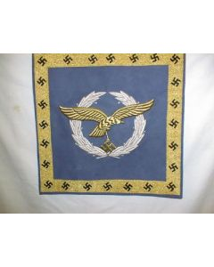 Reproduction Luftwaffe Embroidered 2 Sided Flag