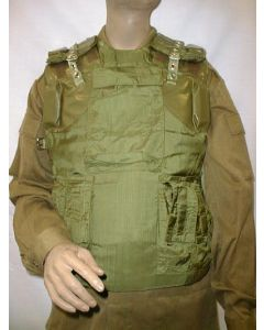 Soviet    Kevlar Lined Armored Assault Vests With 14 OverlappingMetal Plates On Each Side
