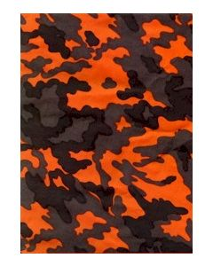 Russian Orange, Black And Gray Camouflage Uniforms