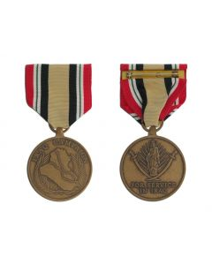 U.S. Iraq Campaign Large Medal
