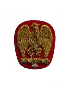 Reproduction WW2 Italian MVSN General cap eagle.Type 3