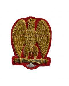 Reproduction WW2 Italian MVSN General cap eagle.Type 4
