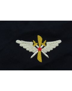 soviet WW2 Soviet pilots sleeve badge on Dark Blue