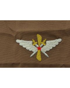 soviet WW2 Soviet pilots sleeve badge on Tan