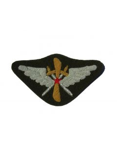 soviet WW2 Soviet pilots sleeve badge on Green