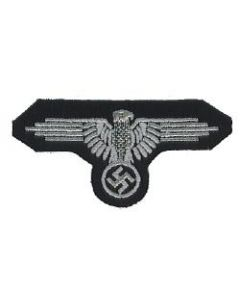 RSE294.Waffen SS Enlisted ranks embroidered sleeve eagle.