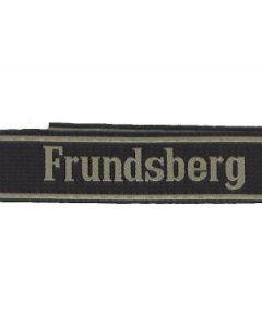 RSE527.FRUNDSBERG woven cufftitle.