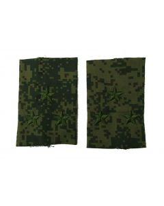 Russian Digital Camouflage Shoulder Slides for Rank of Colonel