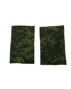 Russian Digital Camouflage Shoulder Slides for Rank of 1st Lt