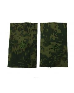 Russian Digital Camouflage Shoulder Slides for Rank of Major