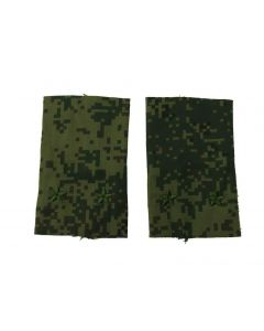 Russian Digital Camouflage Shoulder Slides for Rank of 2nd Lt