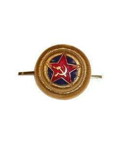 SCS11.Soviet WW2 NKVD Generals cap badge
