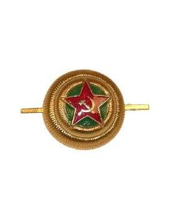 SCS12.Soviet WW2 NKVD Border Guard Generals cap badge